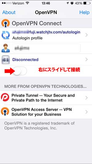 openvpn-ipad-connect